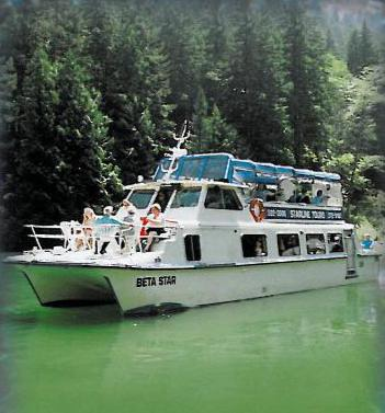 Paddlewheeler MV Beta Star at Pitt Lake 011