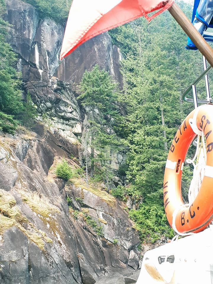Paddlewheeler Pitt Lake Hiroglyphs 002