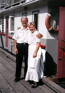 Vancouver Paddlewheeler Riverboat Tours - Doug and Helga