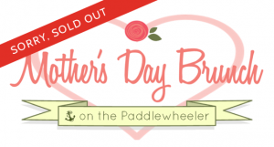 Mother's Day special event Paddlewheeler cruise on the Fraser River