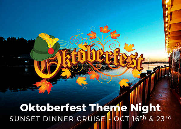Oktoberfest Cruise on the Fraser - Vancouver Paddlewheeler Riverboat Tours Cruises, New West, BC