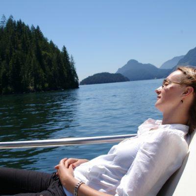 Cruising Pitt Lake on the Paddlewheeler M.V. Native