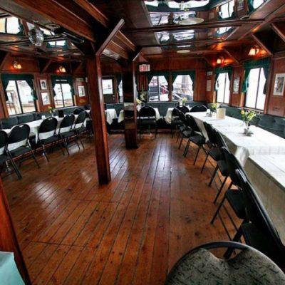 Vancouver Paddlewheeler Dining Deck