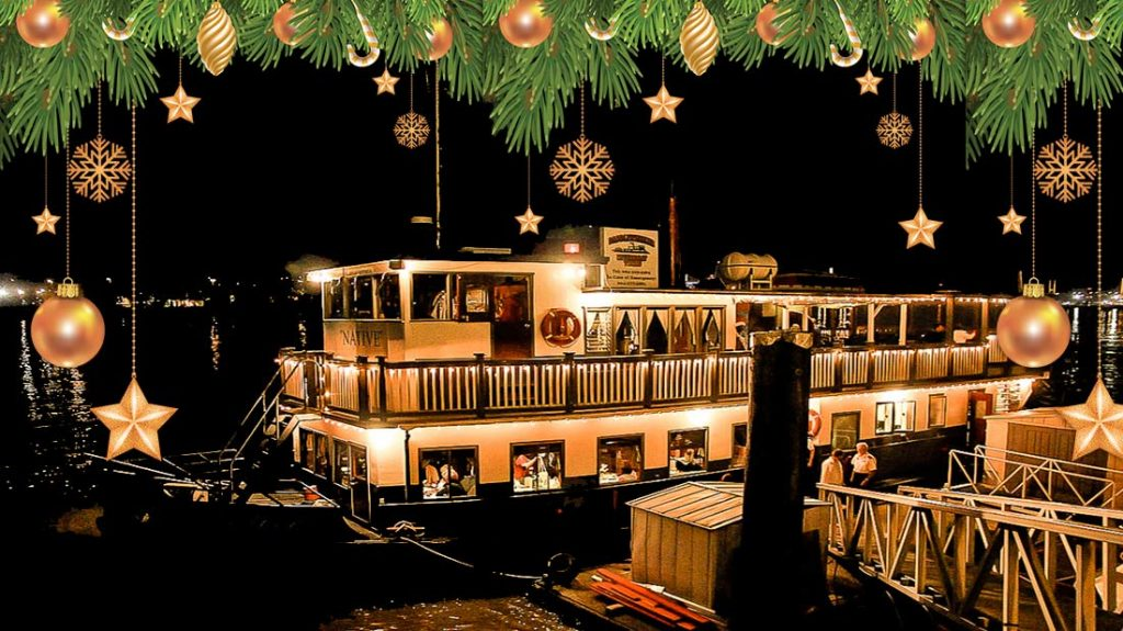 Christmas Dinner Cruises On The Fraser Vancouver Paddlewheeler Riverboat Tours Cruises