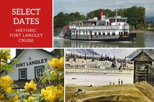 Historic Fort Langley, BC Paddlewheeler Cruise