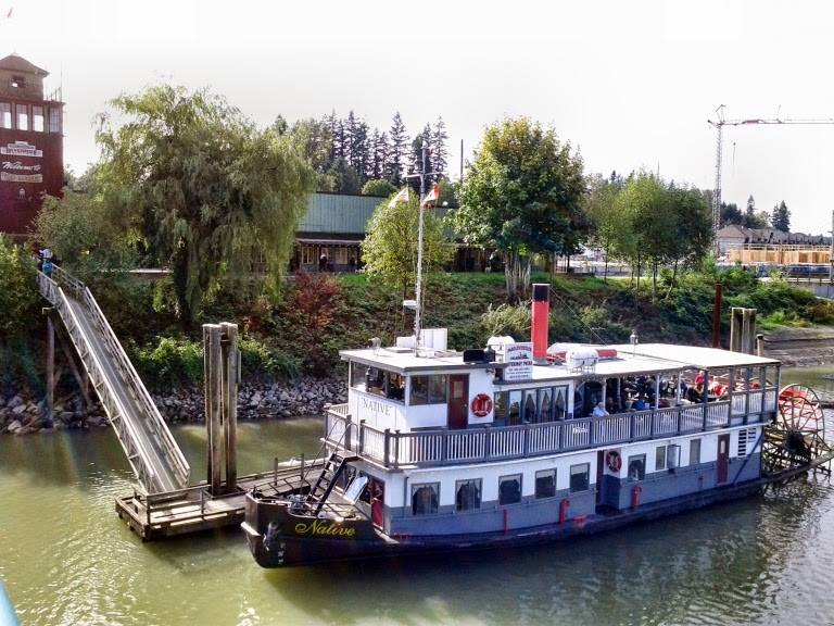 Paddlewheeler River Cruises MVNative New West